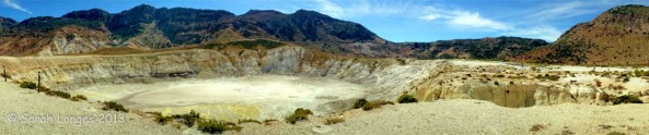 The Largest Crater Of Nisyros