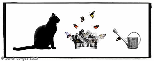Pixel's Butterfly Garden