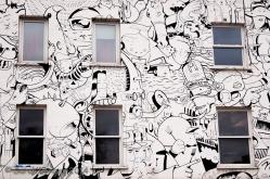 Street art storefont