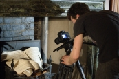 Filming the props