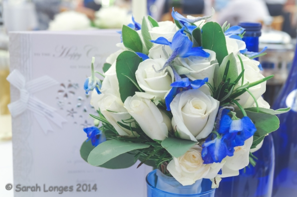 Blue Monday: Bouquet
