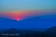 Last glimpse of the sun