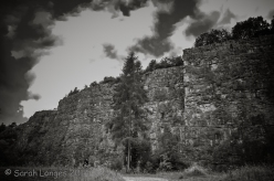 Llanymynech Quarry Rock Face
