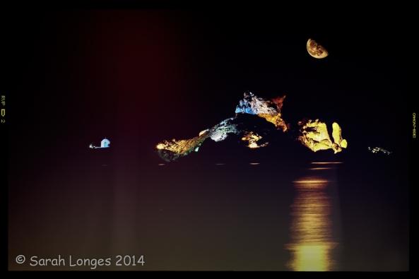 Kastri Isalnd at Night