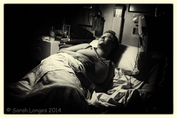 Self Portrait in Hospital
