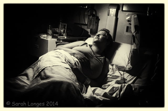 Self Portrait in Hospital