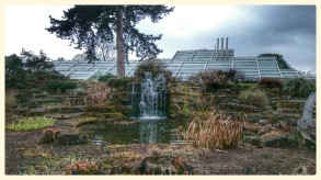 Rock Garden with The Princess Of Wales Glasshouse beyond
