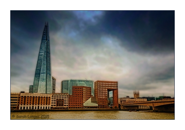 The Shard from The Thames Path