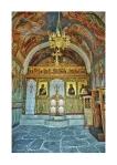 Inside the chapel of Agios Ioannis