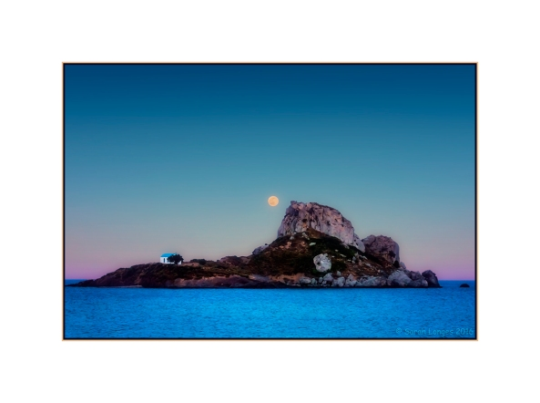 Moonrise Over Kastri Island