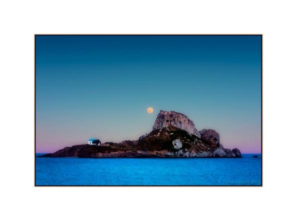 Moonrise Over Kastri Island