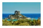 Kastri Island where Simon and I got married