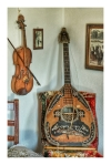 Musical instruments in the Traditional House of Antimachia