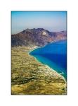 Kardamena and Mt Dikaios from the air
