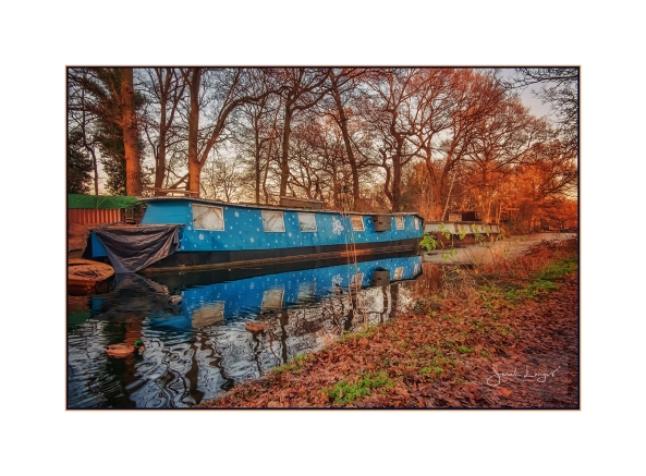 The Blue Barge