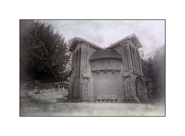 Watts Chapel - vintage style processing