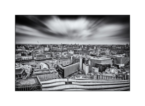 London From Guy's Tower - Mono
