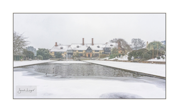 Snow Covered RHS Wisley Laboratory