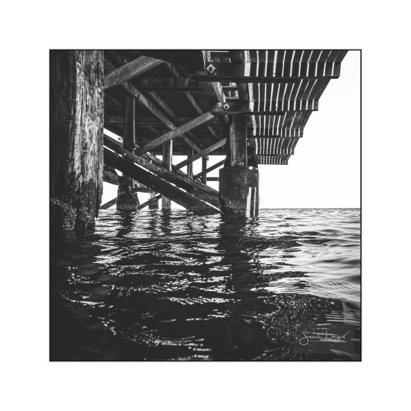 Under Swanage Pier